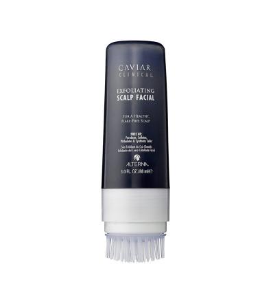 Alterna Caviar Clinical Dandruff Explorating Scalp Facial Отшелушивающий скраб для кожи головы