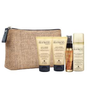 Alterna Bamboo Smooth On-The-Go Travel Set Дорожный набор Alterna Bamboo Smooth для выпрямления и смягчения волос