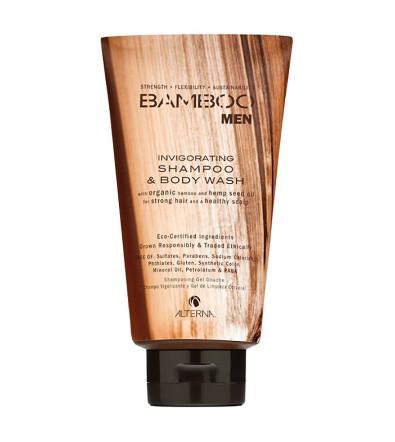 Alterna Bamboo Men Invigorating Shampoo & Body Wash Тонизирующий шампунь & гель для душа
