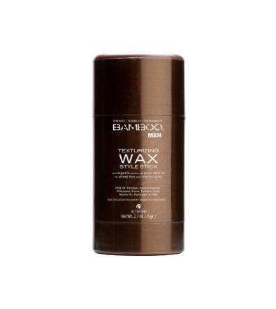 Alterna Bamboo Men Texturizing Wax Style Stick Стик текстурирующего воска для эластичной укладки волос