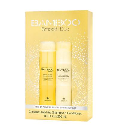 Alterna Bamboo Smooth DUO Kit Набор Шампунь + Кондиционер разглаживающий, полирующий
