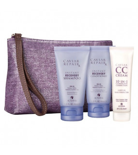 Alterna Caviar Travel Kit Дорожный набор: Repair RX Shampoo + Conditioner + CC Cream