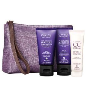 Alterna Caviar Travel Set Дорожный набор: Moisture Shampoo + Conditioner + CC Cream