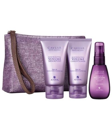 Alterna Caviar Volume Travel Kit Дорожный набор: Volume Shampoo + Conditioner + Volume Mist