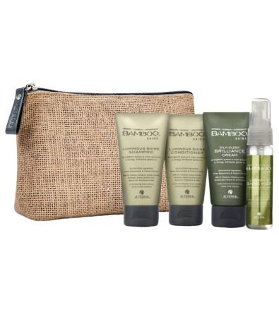 Alterna Bamboo Shine On-The-Go Travel Set Дорожный набор Alterna Bamboo Shine для сияния и блеска волос