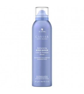 Alterna Caviar Anti-Aging Restructuring Bond Repair Leave-In Treatment Mousse Несмываемый лечебный мусс