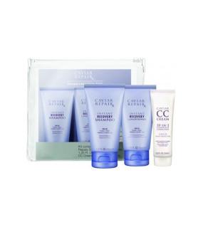 Alterna Caviar Travel Kit Дорожный набор: Repair RX Shampoo + Conditioner + CC Cream