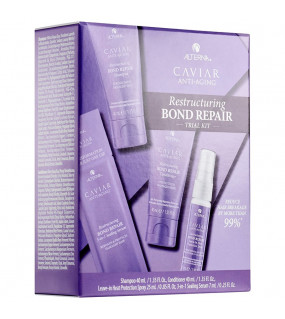 Alterna Caviar Anti-Aging Restructuring Bond Repair Trial Kit Дорожный набор тотальное восстановление волос