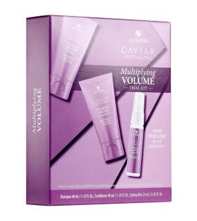 Alterna Caviar Anti-Aging Multiplying Volume Trial Kit Дорожный набор тройной объем для волос