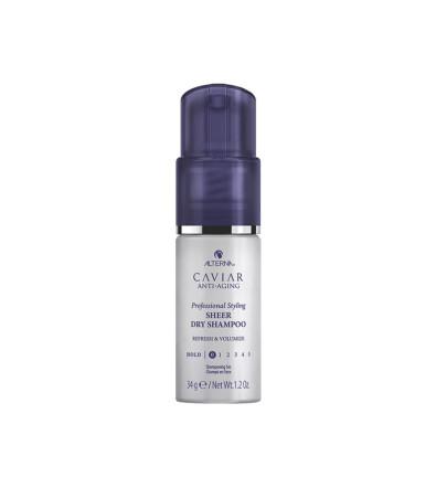 Alterna Caviar Anti-Aging Professional Styling Sheer Dry Shampoo Прозрачный сухой шампунь пудра-спрей нового поколения