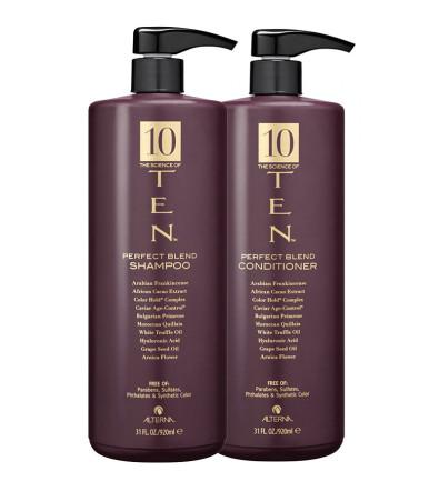 Alterna 10 The Science of Ten Perfect Blend Duo Set Набор средств по уходу за волосами 10 активных компонентов 1840 мл