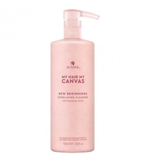 Alterna My Hair My Canvas New Beginning Exfoliating Cleanser Отшелушивающее очищающее средство 1 л