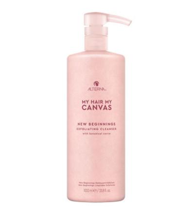 Alterna My Hair My Canvas New Beginning Exfoliating Cleanser Отшелушивающее очищающее средство