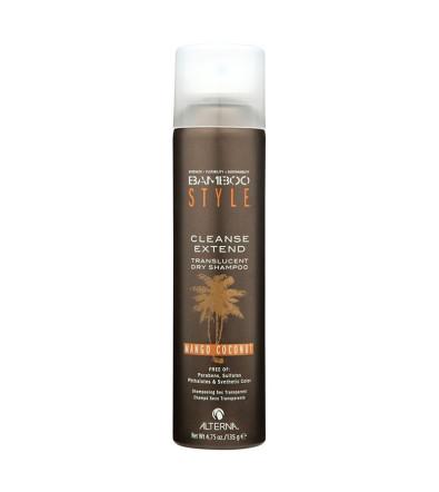 Alterna Bamboo Style Cleanse Extend Translucent Dry Shampoo Mango Coconut Scent Сухой шампунь с ароматом манго