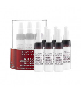 Alterna Caviar Clinical Weekly Intensive Boosting Treatment Еженедельное интенсивное лечение кожи головы и волос в ампулах