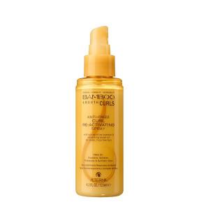 Alterna Bamboo Smooth Anti-Frizz Curl Re-Activating Spray Спрей для возобновления формы локонов
